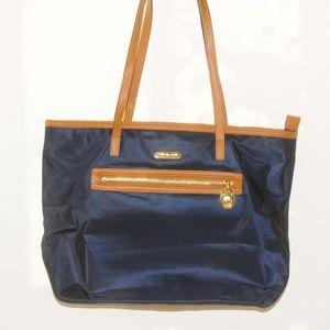 MICHAEL KORS Blue Nylon Tote Bag!